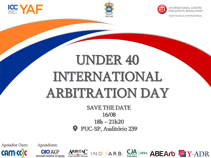 Save The Date: Under 40 International Arbitration Day