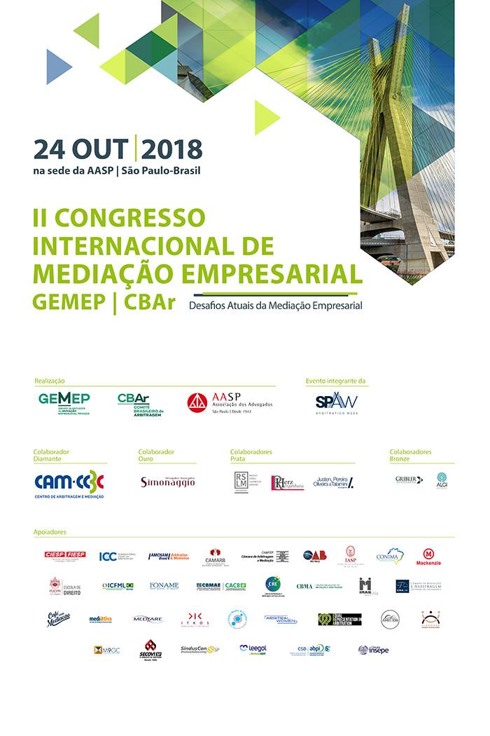 Congresso GEMEP CBAr 24 de outubro de 2018
