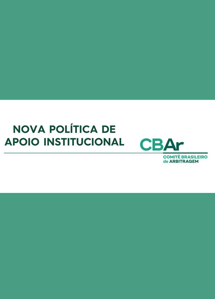 Nova política de apoio institucional