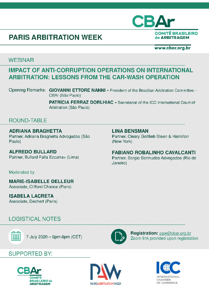 Paris Arbitration Week 2020