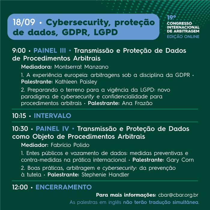19º Congresso Internacional de Arbitragem - Edição Online