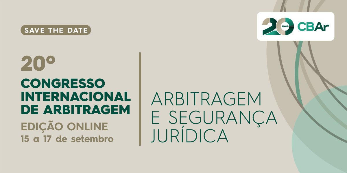 20º Congresso Internacional de Arbitragem - Edição Online
